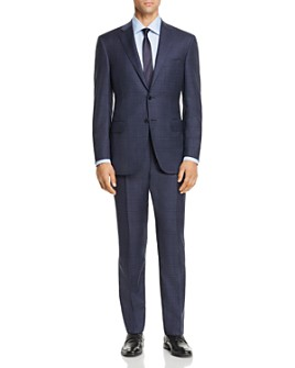 Canali - Siena Tonal Plaid Classic Fit Suit - 100% Exclusive
