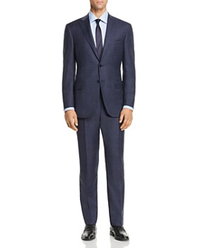 Canali - Siena Tonal Plaid Regular Fit Suit - 100% Exclusive
