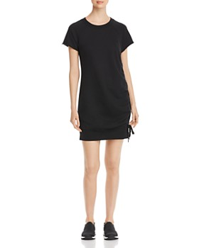 Marc New York - French Terry Lace-Up Dress