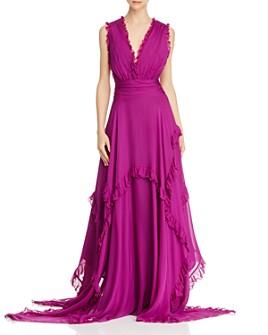 Amur - Ursula Silk Sleeveless Maxi Dress