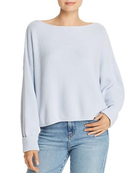 FRENCH CONNECTION - Moss Stitch Mozart Honeycomb Knit Sweater