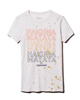 CHASER - x Disney Hakuna Matata Distressed Tee