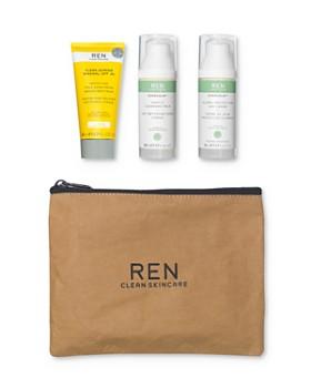 Ren - Clean Summer Skin Care Set