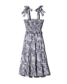Rebecca Taylor - Leopard-Printed Midi Dress - 100% Exclusive