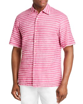 Post-Imperial - Short-Sleeve Striped Regular Fit Shirt - 100% Exclusive