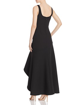 BCBG - Crepe High-Low Gown