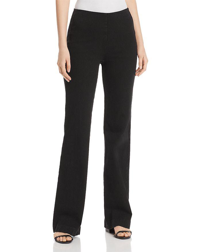 Lyssé - Pull-On Trouser Jeans in Black