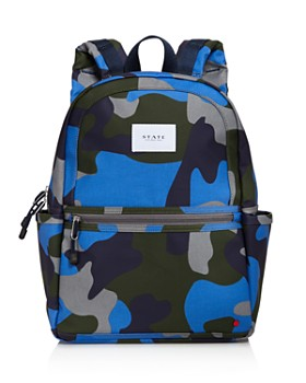STATE - Boys' Camo Backpack