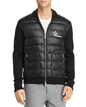 Moncler Lightweight Mixed-Media Down Jacket (Clearance)
