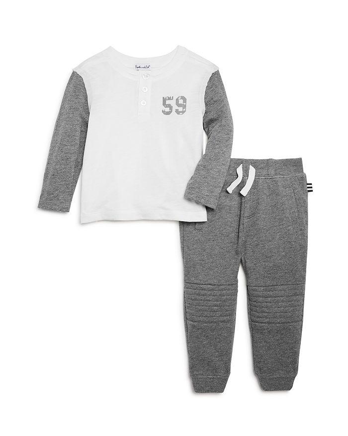 Splendid - Boys' Henley Tee & Jogger Pants Set - Baby
