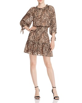 Rebecca Taylor - Lynx Ruffled Dress