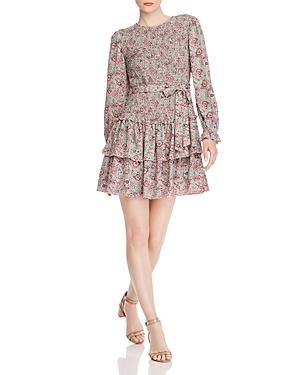 Rebecca Taylor Dresses LA VIE REBECCA TAYLOR CAMILA SMOCKED FLORAL DRESS