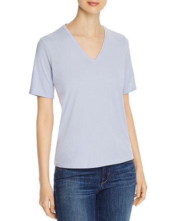 Eileen Fisher - Organic Cotton V-Neck Tee