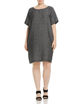 Eileen Fisher Plus - Woven Shift Dress