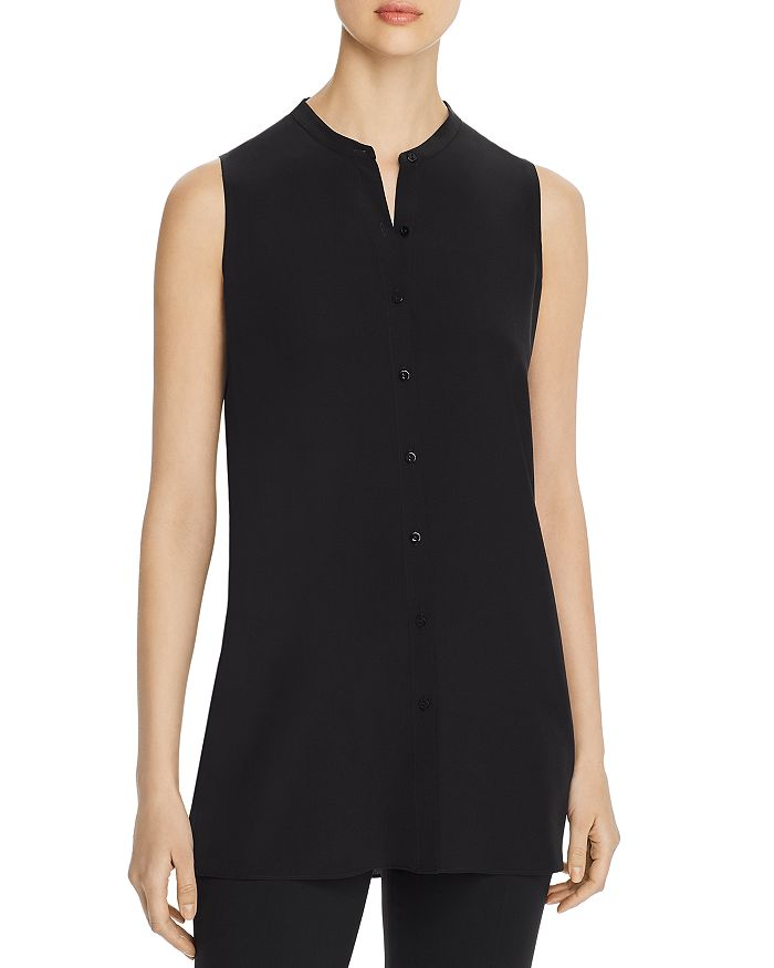 Eileen Fisher - Button-Down Tunic Tank