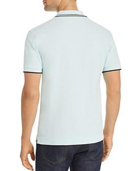 McQ Alexander McQueen - Tipped Piqué Slim Fit Polo Shirt