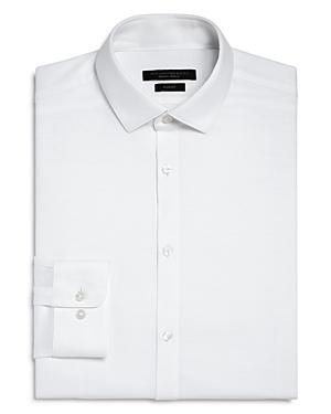 John Varvatos Dresses SOLID JERSEY SLIM FIT DRESS SHIRT