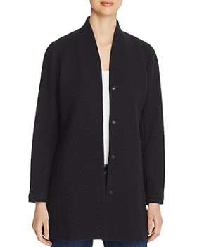 Eileen Fisher - Snap-Front Jacket