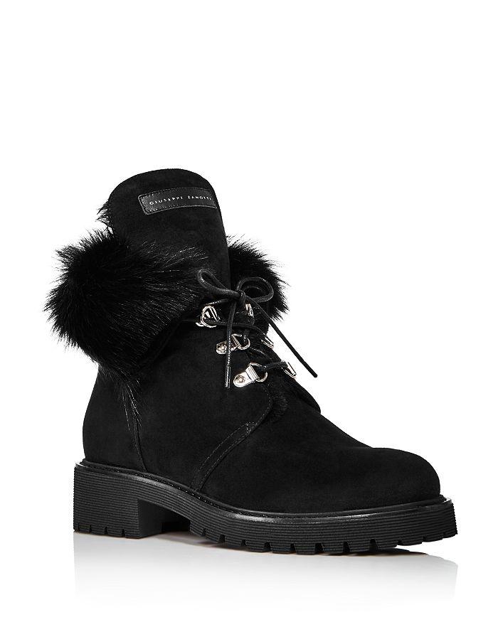 Giuseppe Zanotti - Women's Shearling-Lined Boots