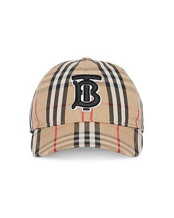 Burberry - Monogram Check Baseball Cap