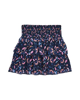 Chloé - Girls' Tiered Floral Print Skirt - Little Kid, Big Kid