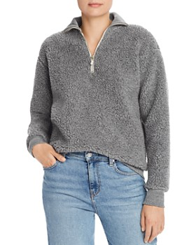 Donni - Sherpa Zip-Up Sweater