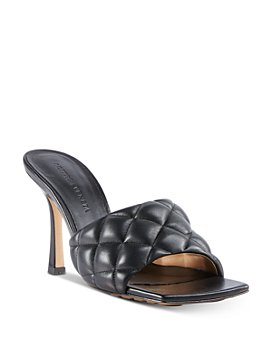 Bottega Veneta - Women's Quilted Leather High-Heel Sandals