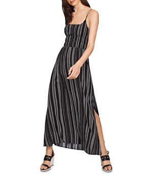 1.STATE - Cinched-Waist Maxi Dress