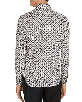 The Kooples - Graphic Weaving Regular Fit Shirt