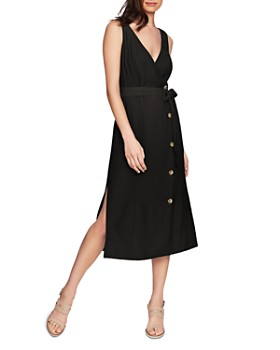 a57842aec90478 1.STATE - Button-Front Midi Dress ...