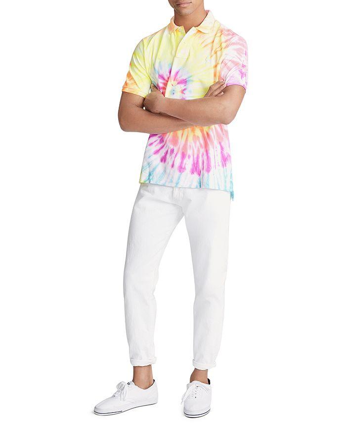 6cbedb87cd Tie-Dye Mesh Classic Fit Polo Shirt