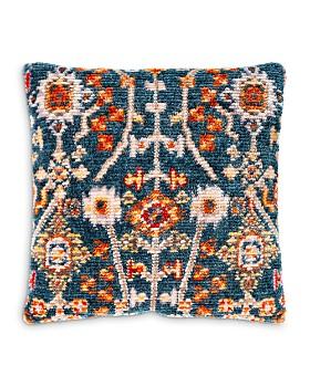 Surya - Savona Blue & Red Throw Pillow Collection