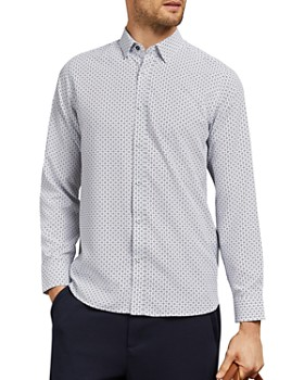 Ted Baker - Michael Small Floral Geo Slim Fit Shirt