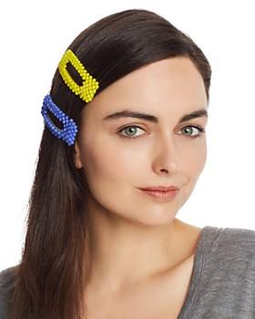 AQUA - Beaded Hair Clips, Set of 2 - 100% Exclusive