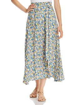 Faithfull the Brand - Asiya Floral Midi Skirt