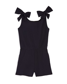 AQUA - Girls' Bow Romper, Big Kid - 100% Exclusive