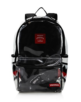 Sprayground - Boys' Clear Double Cargo Shark Backpack