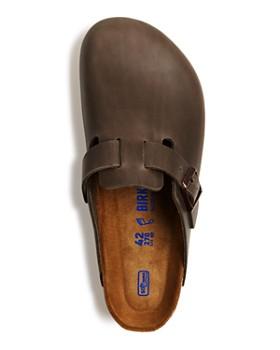 Birkenstock - Men's Boston Leather Clog Sandals