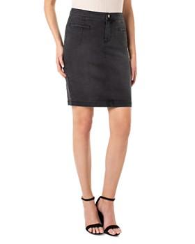 Liverpool - Denim Pencil Skirt