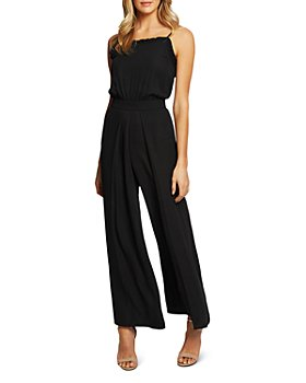 CeCe - Ruffled Wide-Leg Jumpsuit