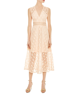 Sandro Bilali Guipure Lace Dress
