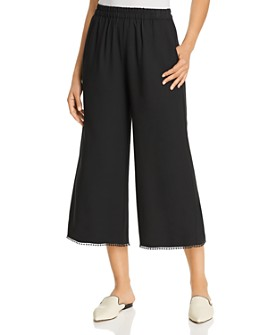 Le Gali - Corey Cropped Wide-Leg Pants - 100% Exclusive