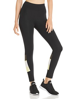 THE UPSIDE - Color-Block Midi Leggings - 100% Exclusive
