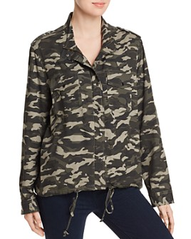 BeachLunchLounge - Tulsi Camo-Print Shirt Jacket
