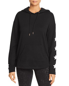 Marc New York - Star-Print Terry Hoodie