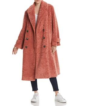Cinq à Sept - Carla Double-Breasted Sherpa Coat