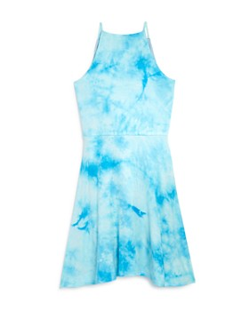 AQUA - Girls' Tie-Dyed Sleeveless Dress, Big Kid - 100% Exclusive
