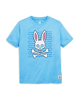 Psycho Bunny - Boys' Skull-Bunny Graphic Tee - Little Kid, Big Kid