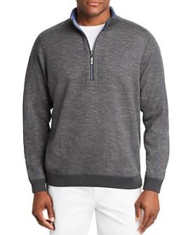 Tommy Bahama - Flipsider Reversible Half-Zip Sweatshirt