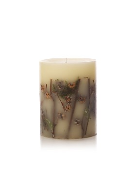 """Rosy Rings - Forest - 5.5"""" Tall Mini Round Candle"""